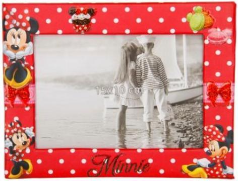Rama foto, Minnie, orizontal, 15x10 cm