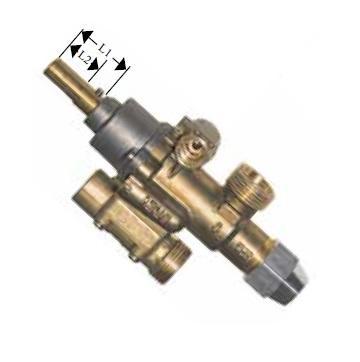 Robinet de gaz PEL 22S/O, intrare gaz M20x1.5, 101085 de la Kalva Solutions Srl