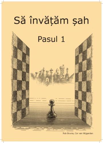 Caiet de exercitii Learning chess Step 1 Workbook / Pasul 1 de la Chess Events Srl