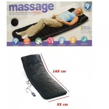 Saltea pentru masaj cu telecomanda si incalzire infrarosu