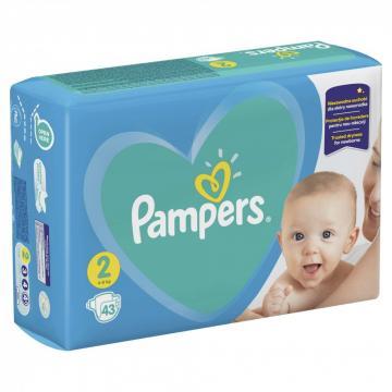 Scutece Pampers Active Baby 4-8kg Mini 2 (43 buc) de la Pepita.ro