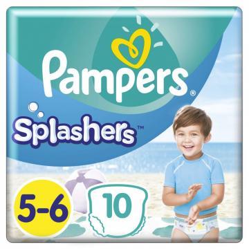 Scutece Pampers Splashers 14kg+ Junior 5-6 (10buc)