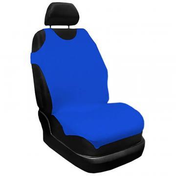 Set husa scaun, maieu, albastru 2 buc., Carmax