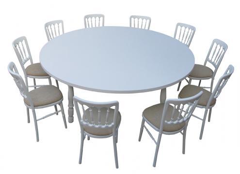 Set masa si scaune pentru evenimente de la Mobirom