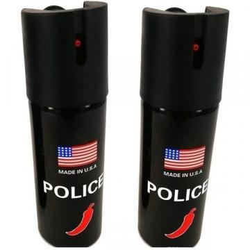 Spray paralizant Police cu ardei iute pentru autoaparare