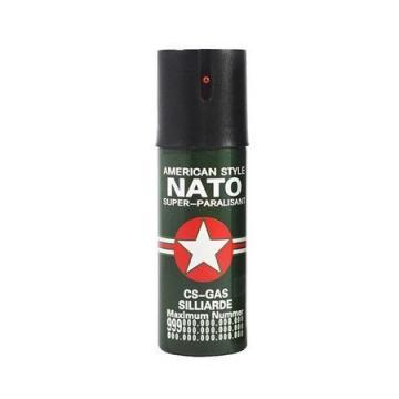 Spray piper paralizant, iritant, lacrimogen, Nato, 60 ml de la Dali Mag Online Srl