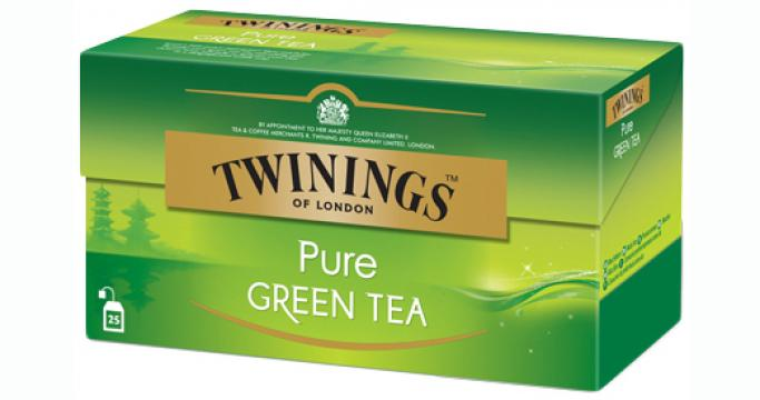 Ceai verde Twinings Pure Green Tea 25x2g de la KraftAdvertising Srl