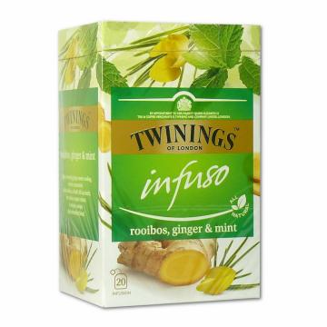 Ceai rooibos, ghimbir & menta Twinings Infuso 20x2g de la KraftAdvertising Srl