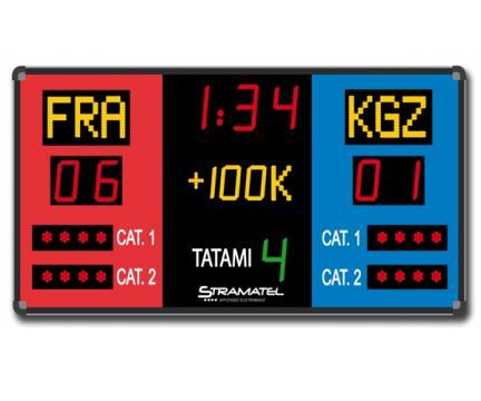 Tabela electronica karate Stramatel