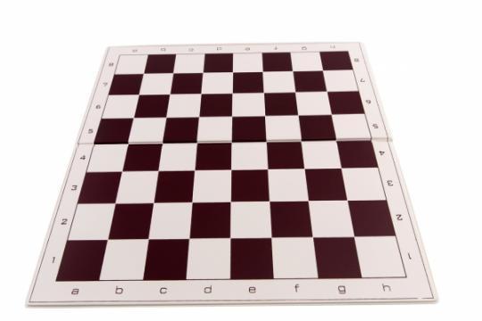 Tabla de sah pliabila PVC no. 4 - 45mm de la Chess Events Srl