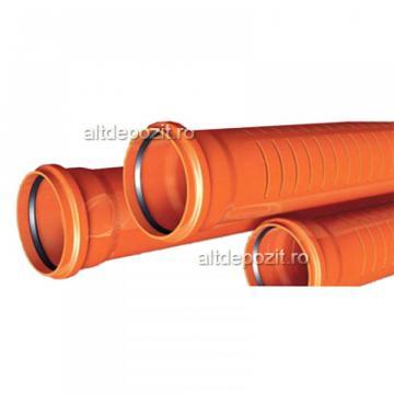 Teava PVC drenaj SN2 de la Altdepozit Srl