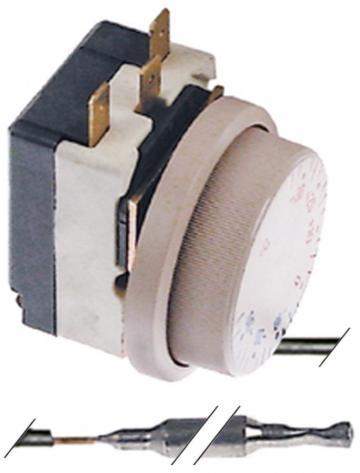 Termostat reglabil -35...+35*C, bulb 6mm x 110mm