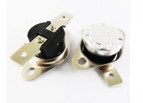 Termostat bimetal de siguranta 75*C, 10A/250