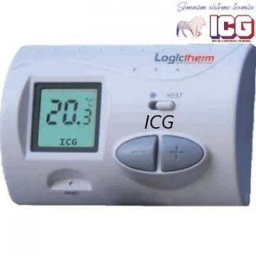 Termostat de ambient Logictherm C3 cu fir de la ICG Center