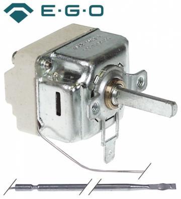 Termostat reglabil 48-250C, 1NO, 16A