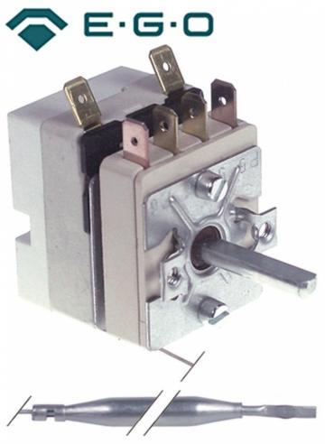 Termostat reglabil 96-180C, bulb diametru 6mmx133mm