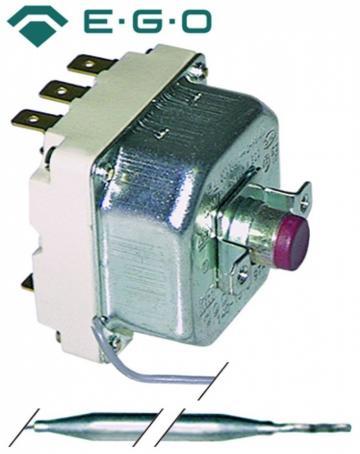 Termostat de siguranta 115*C, 3poli, 20A, bulb 6mmx173mm