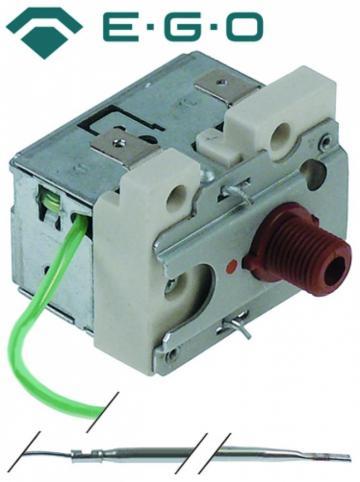 Termostat de siguranta 132*C, 1pol, 16A, bulb 3.1mmx200mm