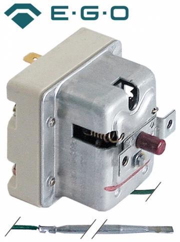 Termostat de siguranta 285*C, 1pol, 0.5A, bulb 4mmx120mm