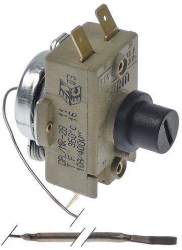 Termostat de siguranta 360C, 10A, 400V, bulb 3x150mm