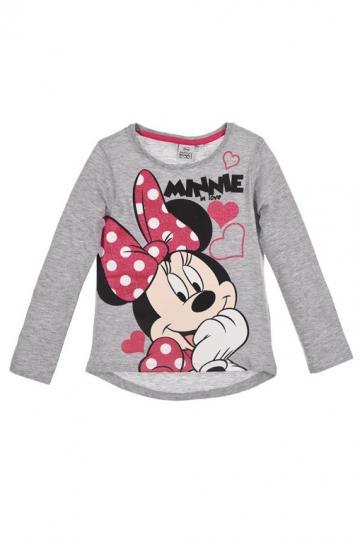 Tricou, Bluza cu maneca lunga, bumbac, Minnie in love de la A&P Collections Online Srl-d
