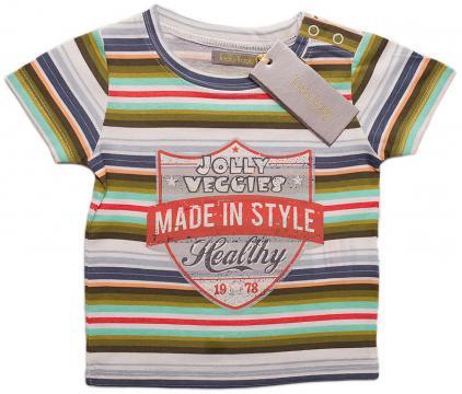 Tricou bumbac, Jolly, baieti, multicolor de la A&P Collections Online Srl-d