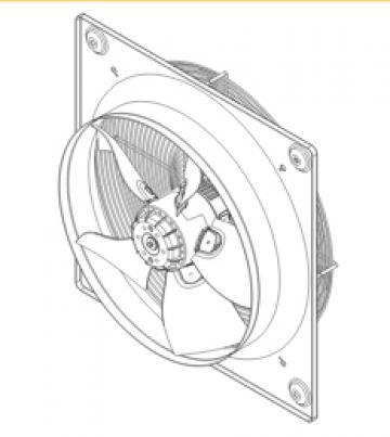 Ventilator axial HXBR/6-500