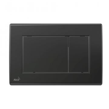 Clapeta de actionare pentru rezervor incastrat, negru-mat