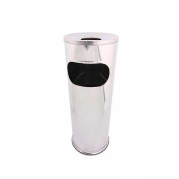 Cos de gunoi cu scrumiera inox, capacitate 14 L de la Sanito Distribution Srl