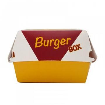 Cutie carton burger, mare, 100 buc/set