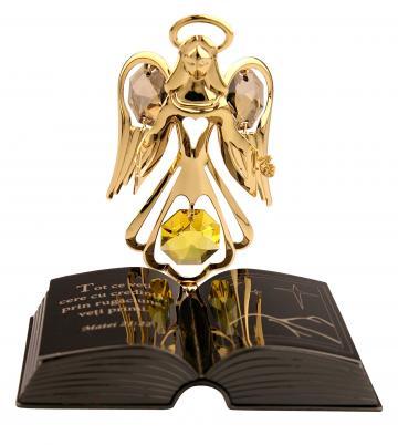 Figurina Ingeras cu Swarovski colectia Povestea Bibliei