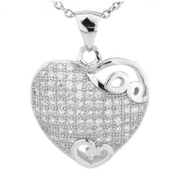 Martisor Pandantiv din argint 925% Heart Fulfillment