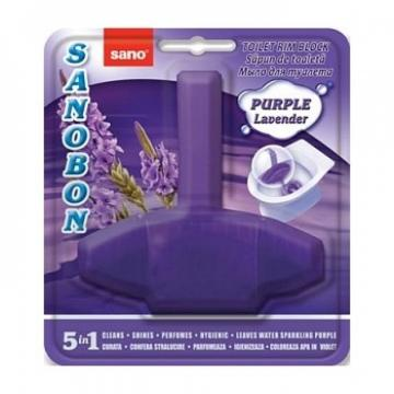 Odorizant vas toaleta Sano Bon Purple Lavender, 55g