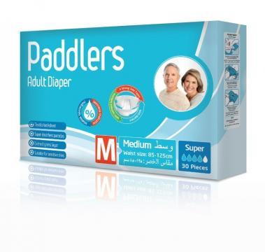Scutece adulti Paddlers, Marimea M - Medium, 30 buc/set