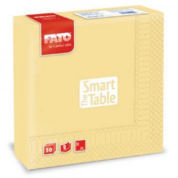 Servetele 33x33 cm, 2 straturi, Smart Table Champagne, Fato de la Sanito Distribution Srl