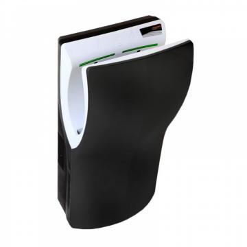 Uscator de maini Dualflow Plus vertical, negru, Mediclinics