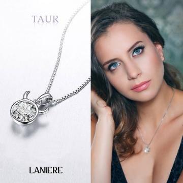 Colier din argint Laniere Zodiac - Zodia Taur