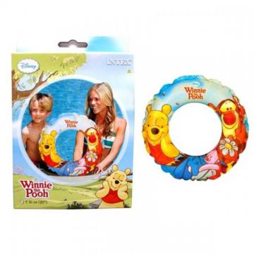 Colac inot gonflabil copii Winnie the Pooh Intex 58228NP