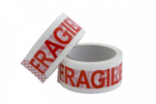 Banda adeziva Fragile 50mmx45m