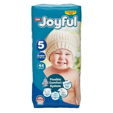 Scutece copii Joyful, 64 buc/set, Marime 5, Junior, 11-25Kg de la Europe One Dream Trend Srl