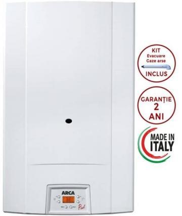 Centrala termica Arca Pixel 25F - 25kW de la Axa Industries Srl