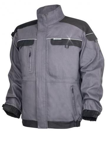 Jacheta de lucru Cool Trend gri/negru - Ardon