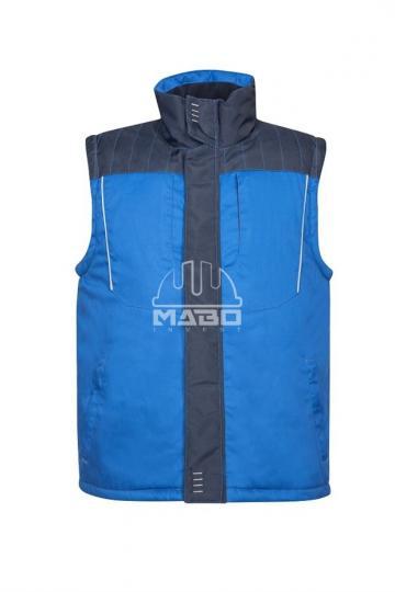 Vesta vatuita 4Tech Winter albastru de la Mabo Invest