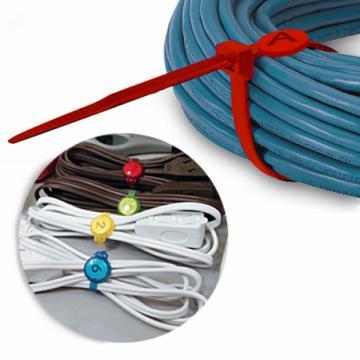 Coliere organizare cabluri, 6 buc de la Plasma Trade Srl (happymax.ro)