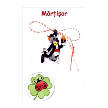 Martisor Tom pe cartonas (APC05-AT08) de la Eos Srl (www.martisoare-shop.ro)