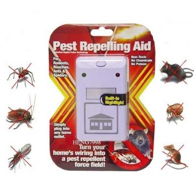 Aparat anti-gandaci cu ultrasunete Pest Repelling Aid de la Preturi Rezonabile
