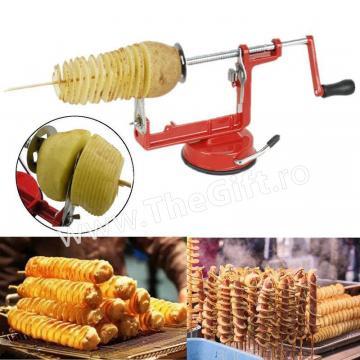 Masina pentru taiat cartofi in spirala, Potato Slicer