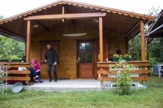 Casa de vacanta din lemn Balaton 3/c izolat de la Korondi Arcso Srl