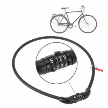 Cablu cu cifru pentru bicicleta de la Plasma Trade Srl (happymax.ro)