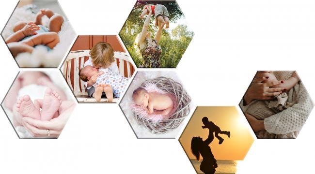 Tablou Canvas hexagon personalizat de la Alconcept Product SRL